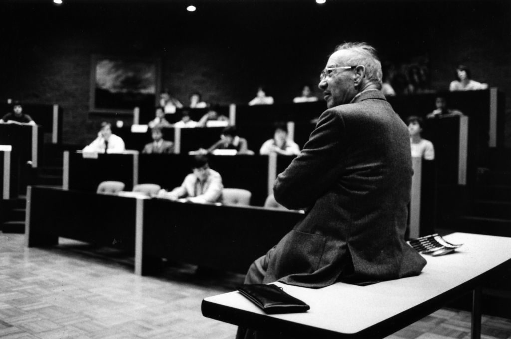 Peter Drucker in the classroom